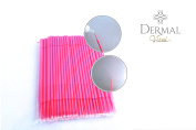 100 pcs. Dermal Vital Microbrush cleaning stick, 1.5mm eyelash extension