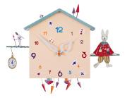 The Bird Boat alabonneheure Clock Rabbit