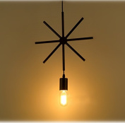 Loft Fixture Retro Industrial Geometric Cage Pendant lamp Ceiling light Simple