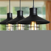 Retro Vintage Industrial Pendant Ceiling Chandeliers Light Lamp With a Bulb