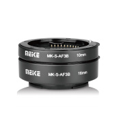 MEIKE MK-S-AF3B Plastic Auto Focus Macro Extension Tube Auto Focus Adapter Ring 10mm 16mm for Sony Mirrorless A7 NEX E-Mount Camera