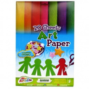 A4 Art Paper - 20 Sheets - Assorted Colours