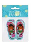 Hawaiian Pencil Erasers Island Yumi Aloha Slippers