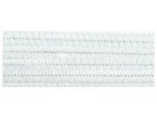 "Accent Design Chenille Stem 12"" 6mm 100pc White"