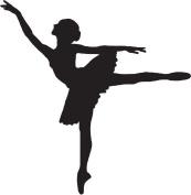 Ballet Dancer Rubber Stamps custom stamps rubber