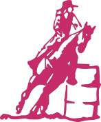 Horse Barrel Racing Rodeo Cowboy Cowgirl Rubber Stamps custom stamps rubber