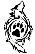Wolf Paw Print Rubber Stamps custom stamps rubber