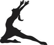 Just Dance Dancer Rubber Stamps custom stamps rubber