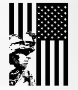 US Soldier Marine Seal US Flag Rubber Stamps custom stamps rubber