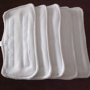 ProSESG(TM)(Pack of 6) Replacement Microfiber Pads Steam Mop for Shark XT3010 S3111 S1001 S3101 SP100K S3250 S3251 S3202 SE200 SP100Q