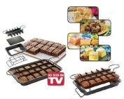 ULTIMATE BROWNIE PERFECT RECIPE CAKE BAKING PAN SET