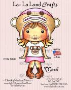 La-La Land Crafts Cheeky Monkey Marci Rubber Stamp