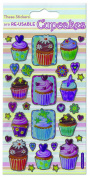 Paper Projects Cupcakes Sparkle Stickers