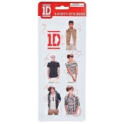 One Direction Puffy Stickers by Global
