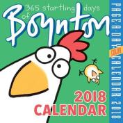 365 Startling Days of Boynton Page-A-Day Calendar 2018