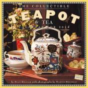 The Collectible Teapot & Tea Wall Calendar 2018