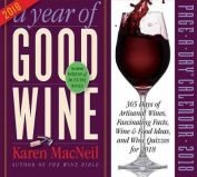 A Year of Good Wine Page-A-Day Calendar 2018