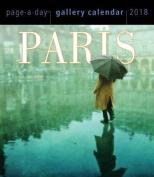 Paris Page-A-Day Gallery Calendar 2018