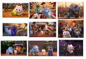 9 Toy Story That Time Forgot Stickers, Angel Kitty, Favours, Gifts, Rewards, Crafts, Scrapbooking, Party Supplies