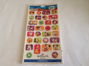 Disney Mickey Mouse Clubhouse 55+ Hallmark Party 2 Sheets Stickers