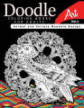Doodle Coloring Books for Adults Art Vol.1