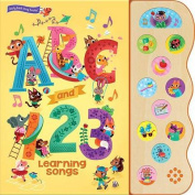 ABC and 123 Learning Songs (11 Button Sound Book) [Board book]