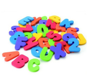 Lalang 36 Numbers and Letters Puzzle Develop Intelligence Toy In The Water Bath Baby Bath Toy