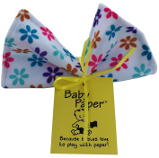 Baby Paper - Crinkly Baby Toy - Flower Print