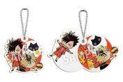 Haikyū !! acrylic slide Keychain Kuroo & Kotsume