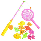 Children Baby Magnetic Fishing Toy Set Puzzle Sorting Educational Develpment Accessory