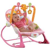 Fisher-Price Infant-to-Toddler Rocker Sleeper, Pink Bunny Pattern