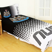 Newcastle United FC Fade Reversible Single Duvet Cover and Pillow Case Set
