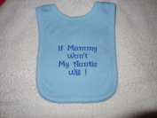 Personalised Baby dribble bib - over head super soft - name, birthday, quote, Funny or whatever you would like by LADYBUGS N BOBBINS