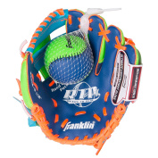 Franklin Sports Teeball Recreational Series Fielding Glove with Baseball, 24cm