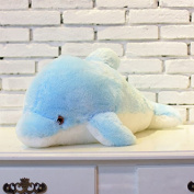 Cute Sea Animal Little Stuffed Toys,Sparkling Dolphin Plush Toy with Colourful Changing LED Light