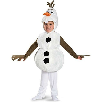 Frozen: Olaf Snowman Toddler Costume - 3T-4T by Disguise Costumes