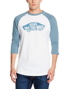 Vans Men's Ot Raglan 3/4 Sleeve T-Shirt