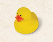 Amscan Party Perfect Rubber Duck Favours, 3.8cm x 4.4cm , Yellow/Orange