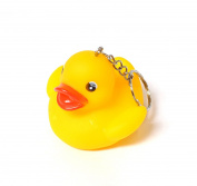 Duck Keyring Yellow