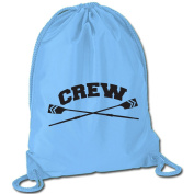 Crew Sport Pack Cinch Sack - Crossed Oars