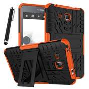 Galaxy Tab A 7.0 Case, Tab A 7.0 Case, Asstar Shockproof Heavy Duty Rugged Hybrid Kickstand Protective Case for Samsung Galaxy Tab A 18cm SM-T280 (2016 release) with 1x Stylus Pen for Free