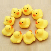 Lowpricenice(TM) Lovely One dozen 12 PC Rubber Duck Ducky Duckie Baby Shower Birthday Party Favours