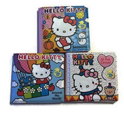 Hello Kitty Bath Time Bubble Books Three Piece Set- Seaons, At The Circus, and Around The World