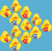 1 Dozen Star Student Rubber Duckys
