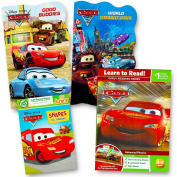 Disney Cars Board Books Set Kids Toddlers - 4 Books