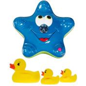 Munchkin Star Fountain with Bath Ducks - Blue