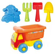 Wu Tan get sandbox play exciting car and Doggy
