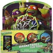"""Teenage Mutant Ninja Turtles Bathtub Basketball """"Tub Toss"""" Gift Set"""