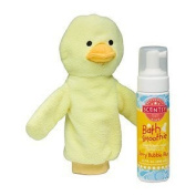 Scentsy Wellington Duck Scrubby Buddy and Jammy Time Bath Smoothie
