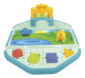 Tubby Table Bathtub Activity Hub with Zoo Mat and Toys
